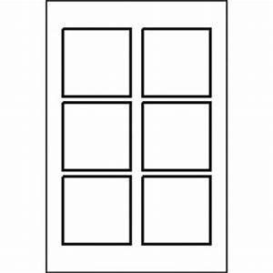 templates kraft square label 6 up 10 sh avery With 6 up label template