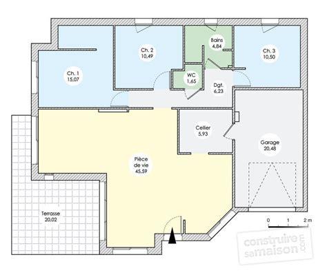 maison de plain pied en vendée dé du plan de maison