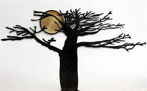 Sculpture Murale Design : d coration murale arbre et soleil d coration murale design m tal ~ Teatrodelosmanantiales.com Idées de Décoration