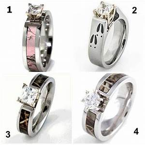 camo rings for him and her wedding ideas pinterest With camo wedding rings for her