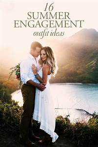 Things Are Heating Up With These 16 Summer Engagement Outfit Ideas | Junebug Weddings