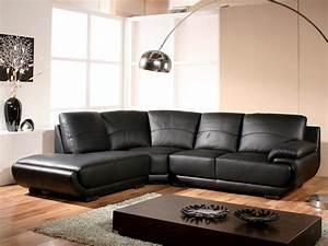 Canapé D Angle En Cuir : canap angle en cuir mozart ~ Teatrodelosmanantiales.com Idées de Décoration