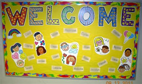 welcome back to school bulletin board ideas for preschool 722 | dfc4fb1a344831599667df49716f4b28