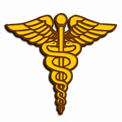 Medical Army Caduceus Corps Clip Clipart Symbol