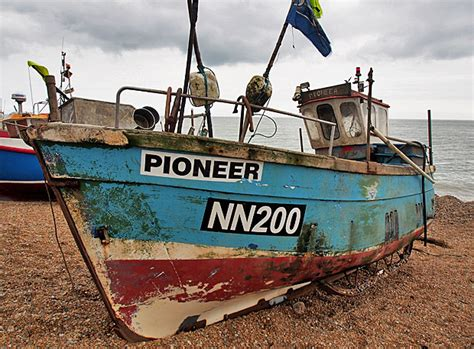 Small Fishing Boats For Sale In Kent by Fishermans Boats On The Stade In Photos Hastings