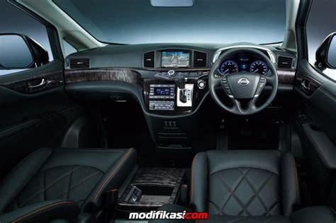 Modifikasi Nissan Elgrand by Mobil Nissan Elgrand 2014 Dengan Tilan Grill Terlebar