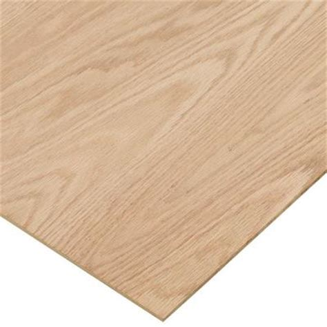 oak veneer sheets home depot project panels red oak plywood price varies by size 1994 the home depot