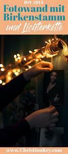 Idee Für Fotowand : diy fotowand mit birkenstamm selber machen diy pinterest fotowand geschenke und birke ~ Markanthonyermac.com Haus und Dekorationen