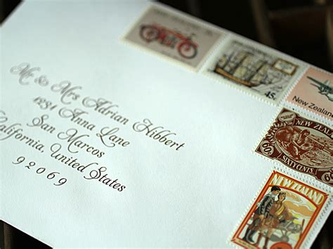 How To Address Wedding Invitations With Children