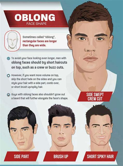 mens hairstyles for oblong faces 2018 hairstyles by unixcode