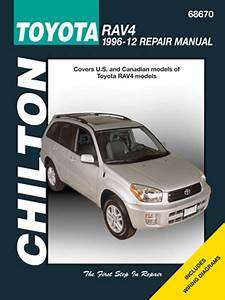 Toyota Rav4 Chilton Repair Manual  1996-2012
