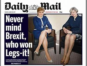 Daily Mail's 'Legs-it' headline fuels outrage | SBS News