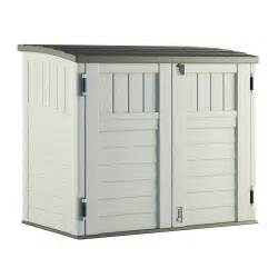 suncast resin outdoor storage shed lowe s canada