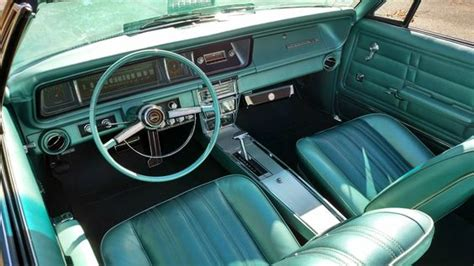 Groovy Interiors 1965 And 1974 Home Décor: 1966 Impala SS Interior