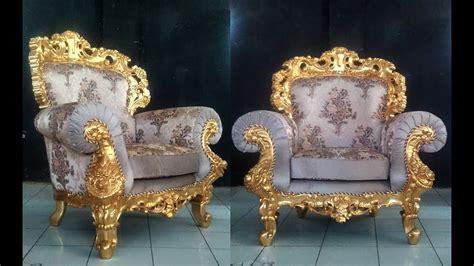 Baroque Sofa Set by Gold Leaf Baroque Sofa Set For Living Room