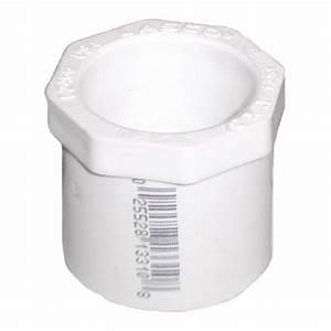 1 4 U0026quot  X 3  4 U0026quot  Sch 40 Pvc Reducer Bushing Flush Style