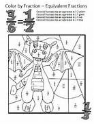 Equivalent Fractions Worksheets These Coloring Sheets Make Learning About E Fractions For Third Grade CCSS 3 NF Pizza Homework And Classroom Fraction Addition Like Denominators Rainy Day Coloring Puzzle Grade 3 On Pinterest The Mailbox Tall Tales And Worksheets