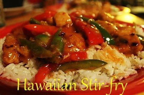 Hawaiian Stir fry