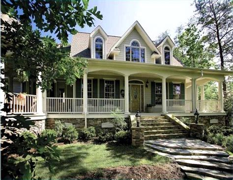 Country House Plans With Front Porches