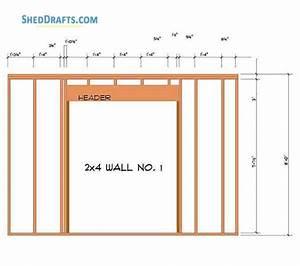 12 U00d712 Hip Roof Storage Shed Plans Blueprints For Workshop
