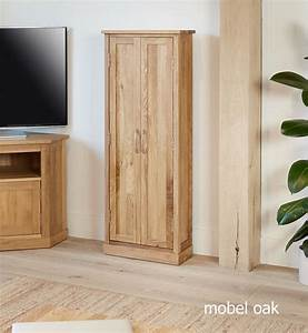 Baumhaus Mobel Oak DVD Storage Cupboard Casamo Love