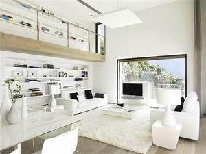 Wohnzimmer In Weiß : 38 ideen f r wei es wohnzimmer wohnideen mit reinheit und eleganz ~ Orissabook.com Haus und Dekorationen