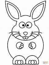 Bunny Coloring Pages Rabbit Rabbits Cartoon Easy Printable Easter Rabit Snowshoe Drawing Outline Bugs Getdrawings Ears Elephant Getcolorings Clipartmag Designlooter sketch template