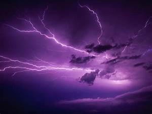 Clouds storm purple lightning skyscapes wallpaper ...