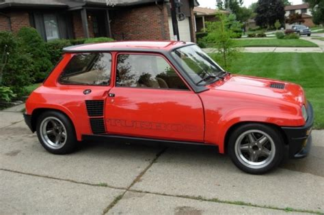 Renault 5 Turbo For Sale Usa by Used Car Of The Day Renault 5 For Sale