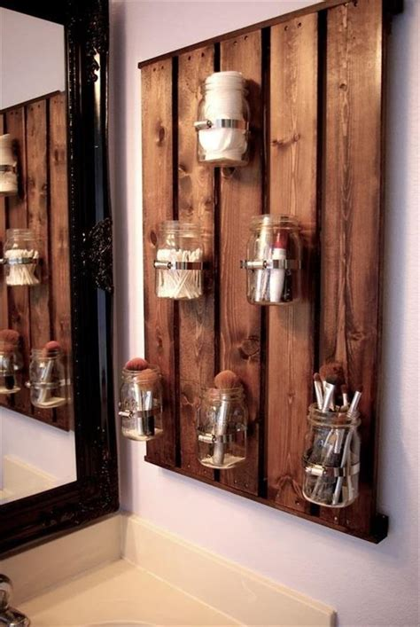 pallet mason jars hanging wall pallet furniture plans