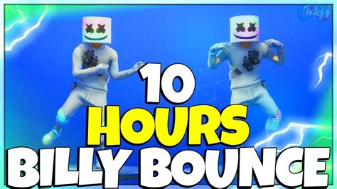 fortnite billy bounce emote  hours youtube