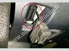 Prise OBD2 dans les BMW X6 E71 2008 2014 Outils OBD