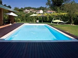 Piscine Enterrée Rectangulaire : piscine acier enterr e rectangle fond plat sunkit x x m projecteur 300 w ~ Farleysfitness.com Idées de Décoration
