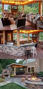 Breathtaking, Backyard, Bar, And, Grill, Ideas, U2013, Back, Yard