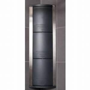 rangement d39angle salle de bain achat vente colonne With porte d entrée alu avec colonne pivotante de salle de bain