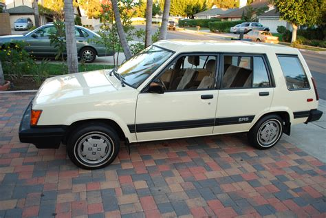 toyota awd wagon 1987 tercel sr5 4wd manual toyota forums nation