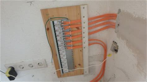 lan anschluss patchpanel switch router dsl anschluss