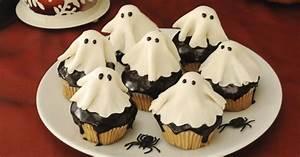 Recette Halloween Salé : recette de cupcakes fant mes pour halloween ~ Melissatoandfro.com Idées de Décoration