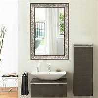 """bathroom wall mirror 36"""" Wall Mirror Beveled Rectangle Vanity Bathroom ..."""