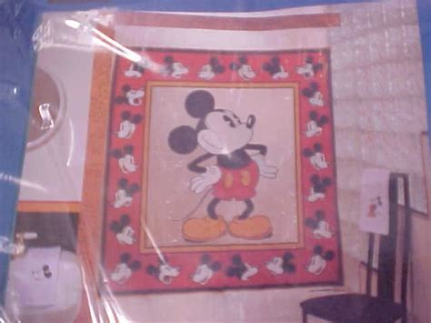 Mickey Mouse Bathroom Set Uk by Disney Mickey Mouse Shower Curtain Classic Mickey Sold