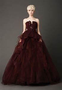 wedding dresses 2013 top 10 trends best designersto With wine wedding dress