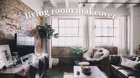 loft living room makeover  downtown la