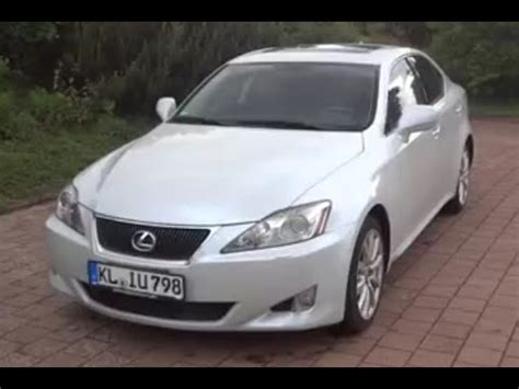 2008 Lexus Is 250 Review by 2008 Lexus Is250 Extended Test Drive Doovi