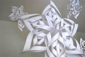 6 ways with snowflakes 3d snowflakes