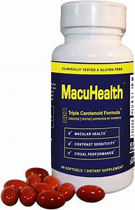 Macuhealth Eye Vitamins Supplement For Adults  90 Softgels  3 Month Supply  Eye Formula With