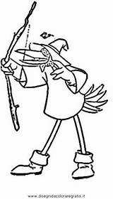 Hod Robin Hood Coloring Pages Template sketch template