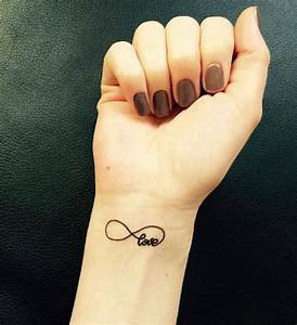 Tatouage Amour éternel : tatouage poignet infini femme ~ Melissatoandfro.com Idées de Décoration