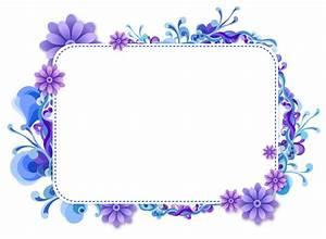 purple frame png   Blue and Purple Vector Frame   Frames ...