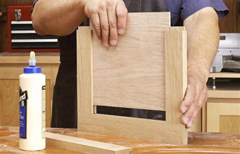 simple frame  panel doors   minutes wood magazine
