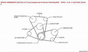 Nissan Pickup Belt Pully Diagram Questions  U0026 Answers  With